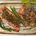 Pistachio Crusted Salmon Beat PCOS 10 Week Program