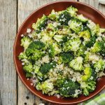 Broccoli Quinoa Salad Beat PCOS 10 Week Program